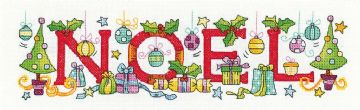 Noel from  Karen Carter Collection Cross Stitch Kit